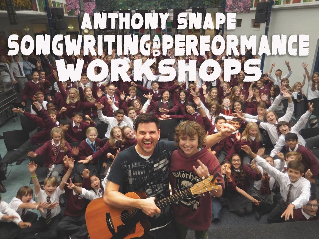 Songwriting with Anthony Snape