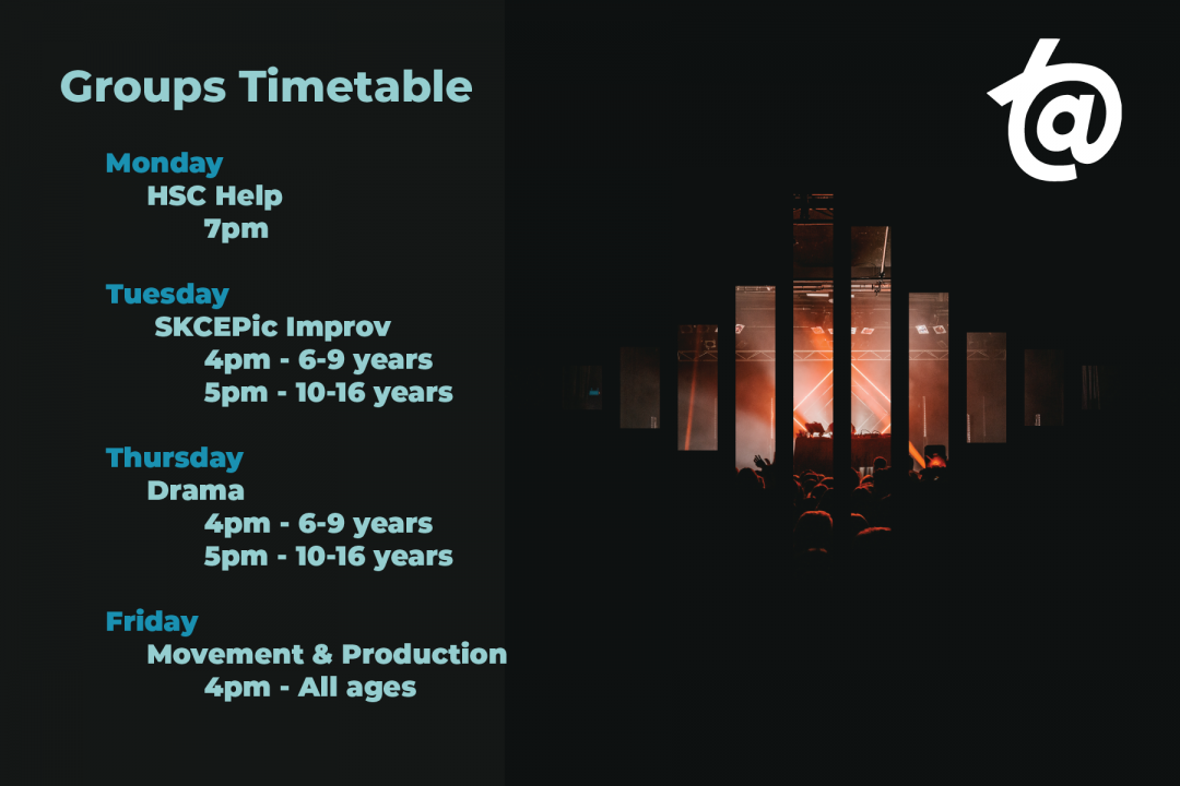 Group Timetable @ The Academy